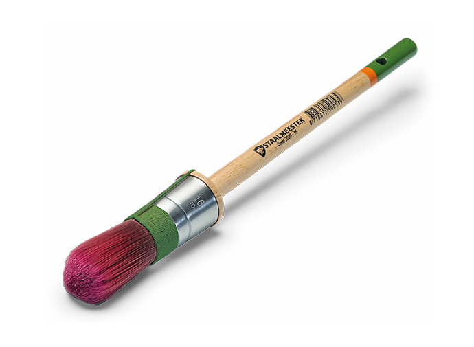 Staalmeester ProHybrid - Patentpuntkwast - Rundpinsel - Round Paintbrush